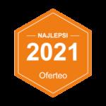 Tytuł NAJLEPSZY DOSTAWCA BRAM 2021
